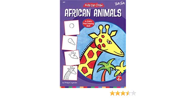 600x315 Kids Can Draw African Animals Philippe Legendre
