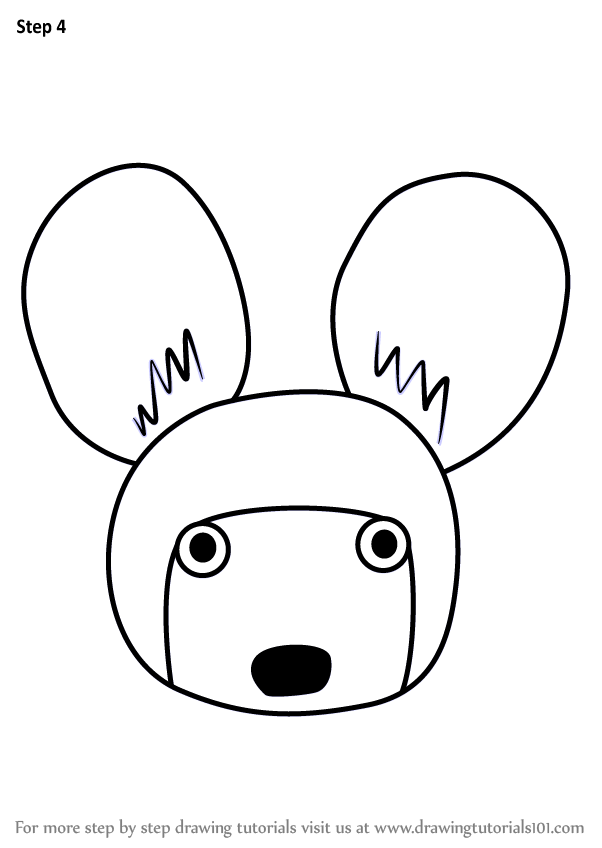 602x848 Learn How To Draw An African Wild Dog Face For Kids