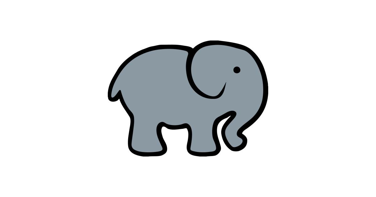 1200x630 Baby Cartoon Elephant Drawing