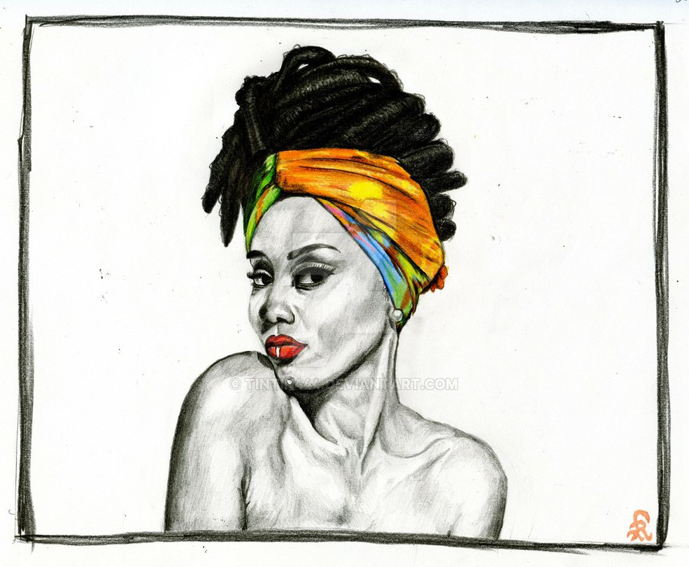 985x811 African Lady