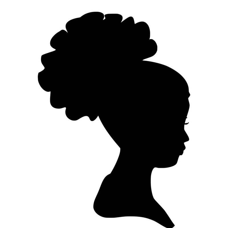 800x800 Collection Of 'african Lady Silhouette' Download More Than