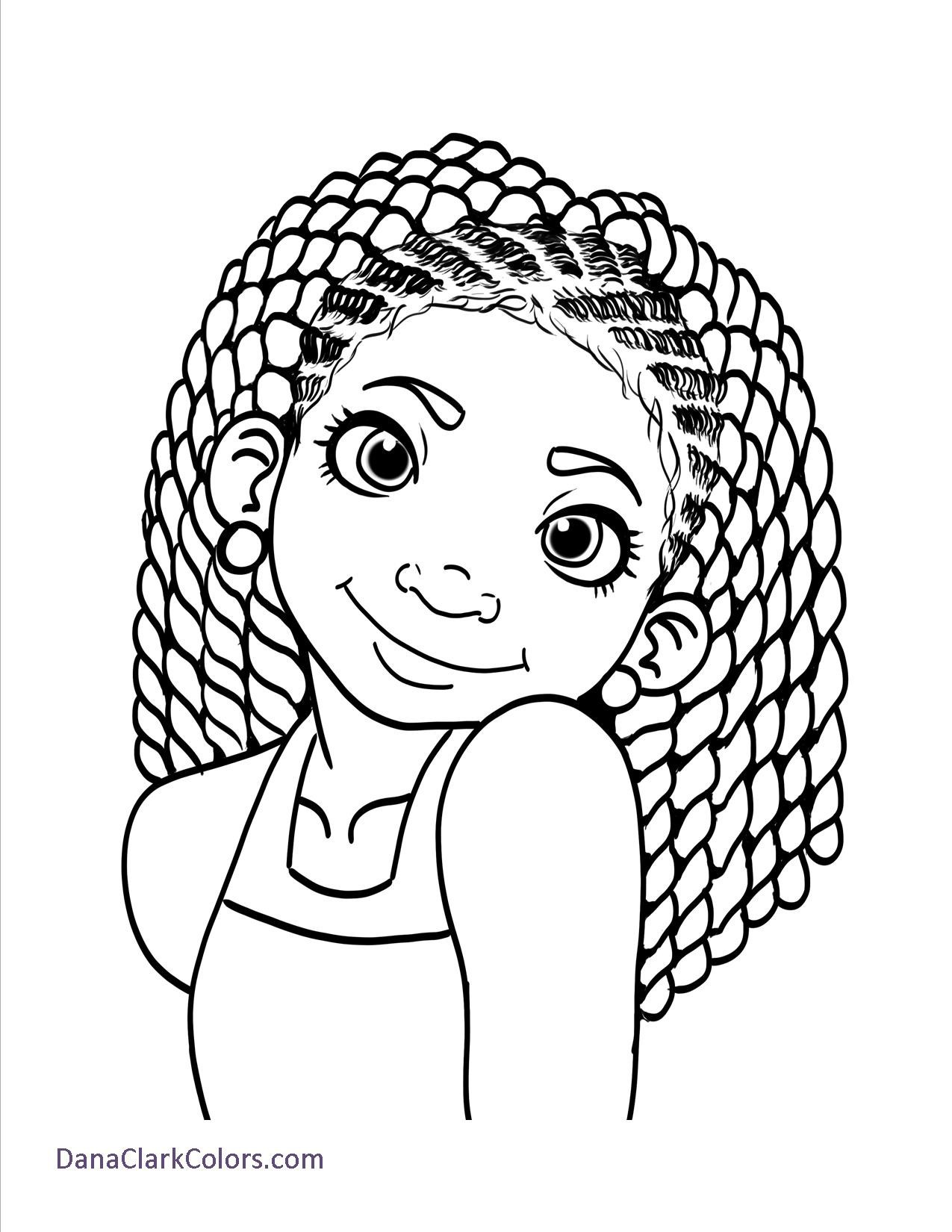 1275x1650 African Child Coloring