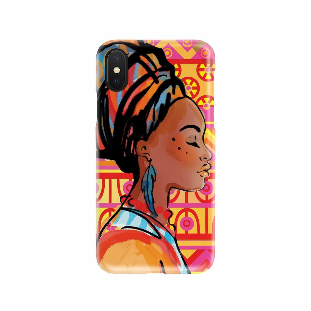 1060x1060 African Girl Aztec Iphone Android Phone Cases Jorjune