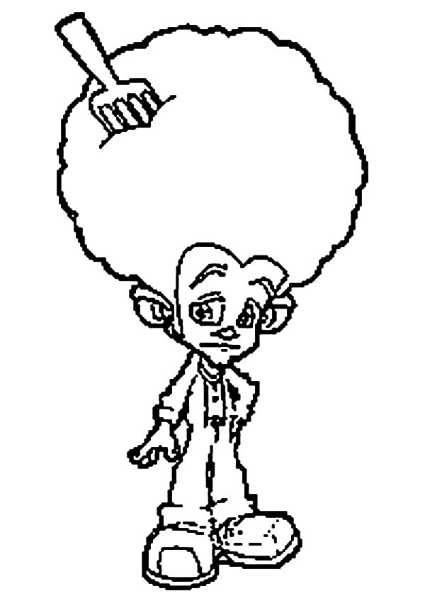 600x840 Afro Hair With Fork Trollz Coloring Pages Best Place To Color