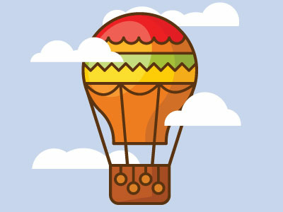 400x300 Hot Air Balloon