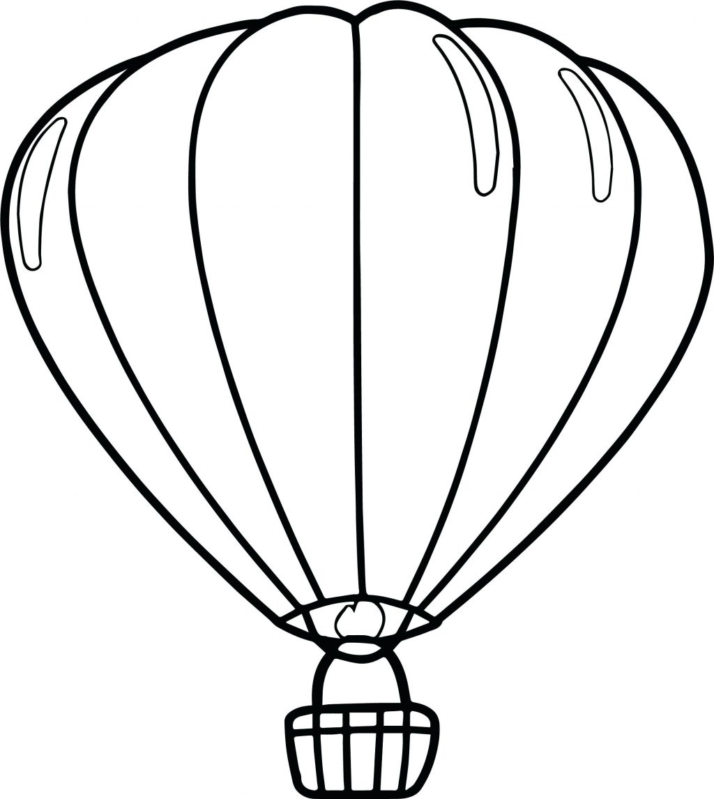 1024x1146 Hot Air Balloons Coloring Pages