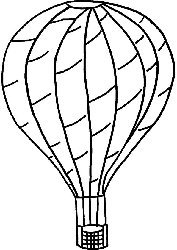 595x840 Hot Air Balloon