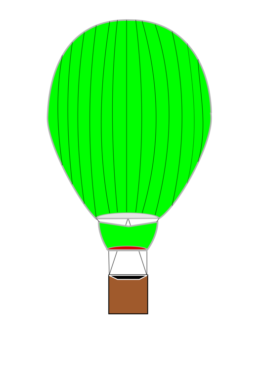 530x750 Hot Air Balloon Drawing Aviation Computer Icons Cc0