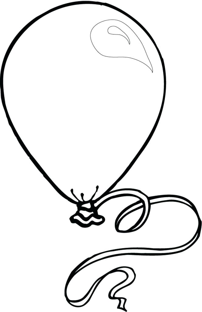 664x1024 How To Draw Balloons Step
