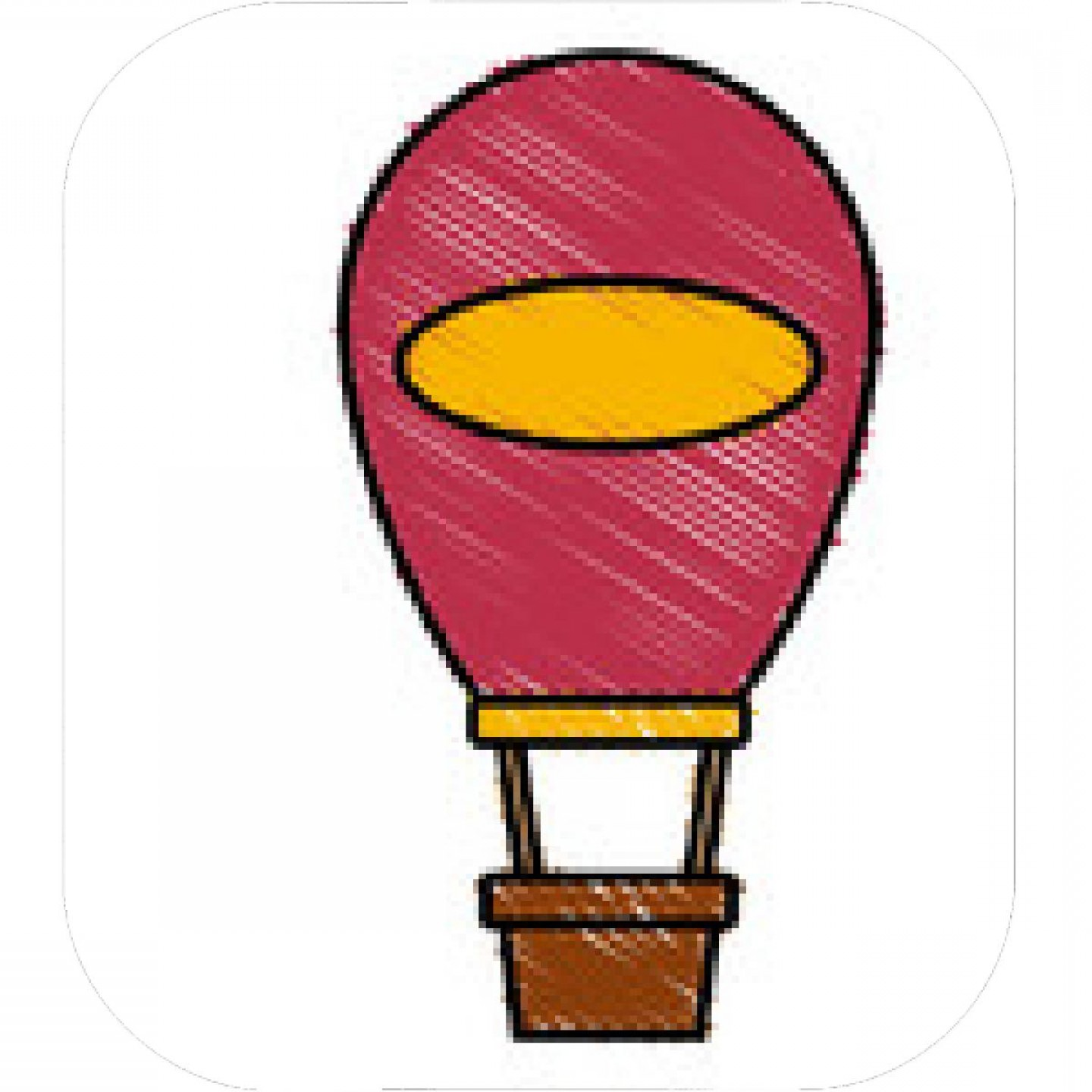 1440x1440 Pumpkin Hot Air Balloon Vector Hoodamathrun