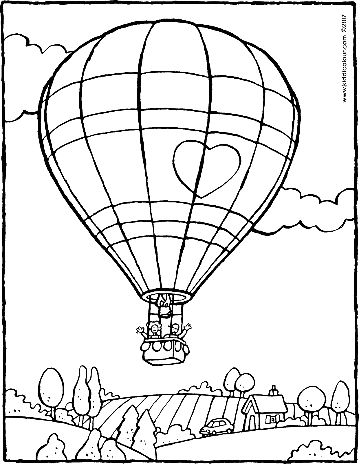 1240x1600 Hot Air Balloon