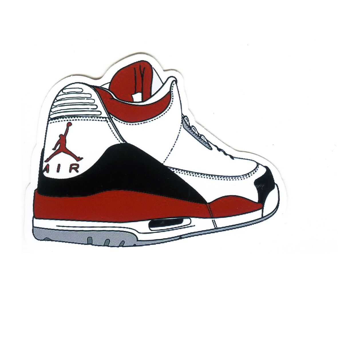 Air Jordan Drawing