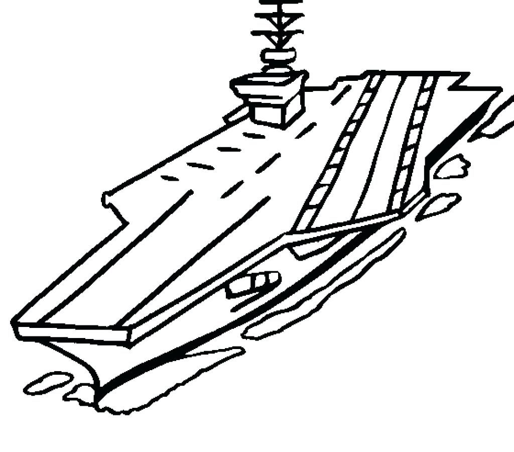 Aircraft Carrier Drawing | Free download best Aircraft