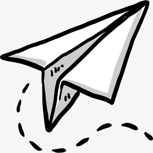 512x512 paper airplane clipart paper airplane airplane clipart cartoon