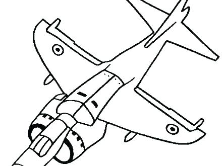 440x330 Easy Plane Drawing Image Titled Draw A Plane Step Easy Simple
