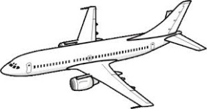300x158 How To Draw An Airplane Easy Step