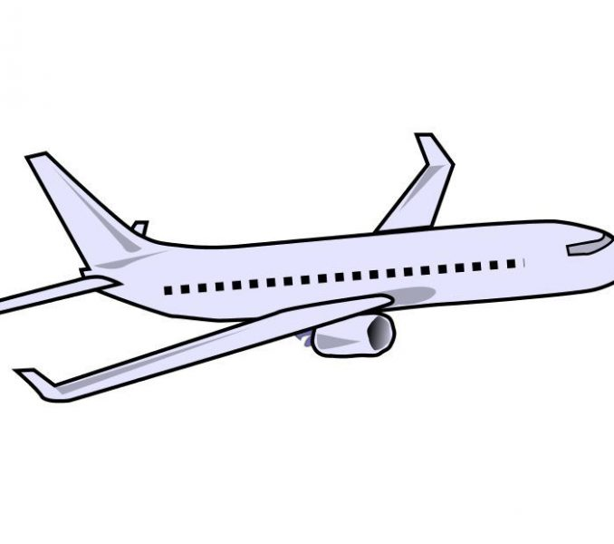 678x600 Aeroplane Drawing For Kid How To Draw A Plane Wikihow Art Coloring