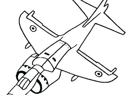 440x330 Easy To Draw Cartoon Airplane