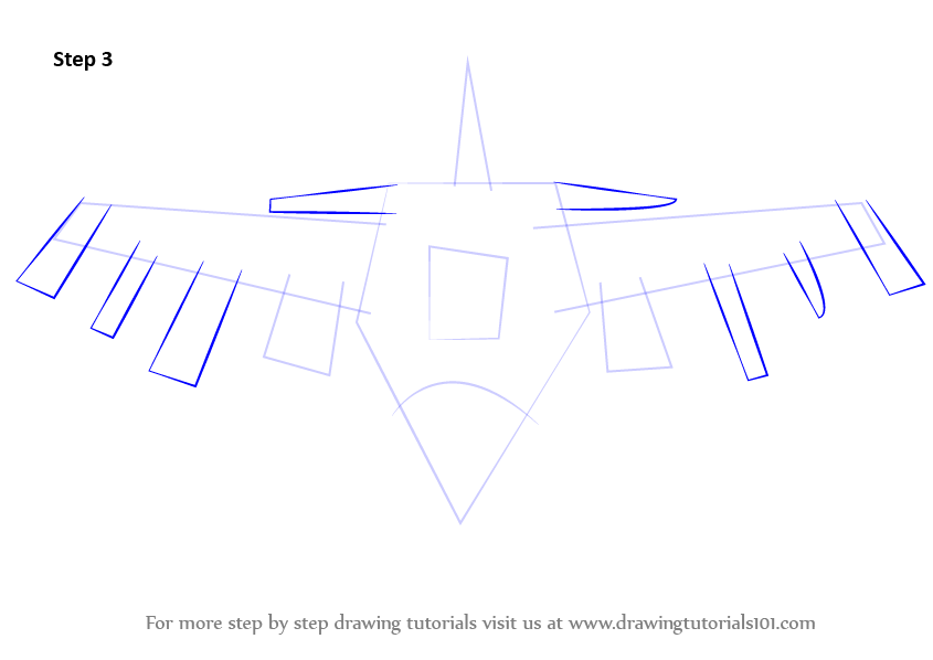 845x598 Learn How To Draw Fighting Falcon