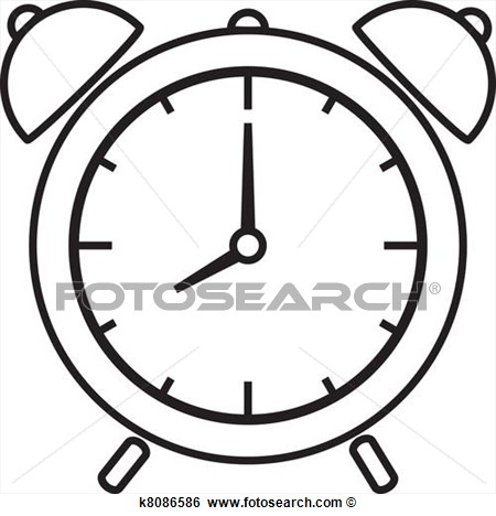 450x468 Clock Vector Drawing Images
