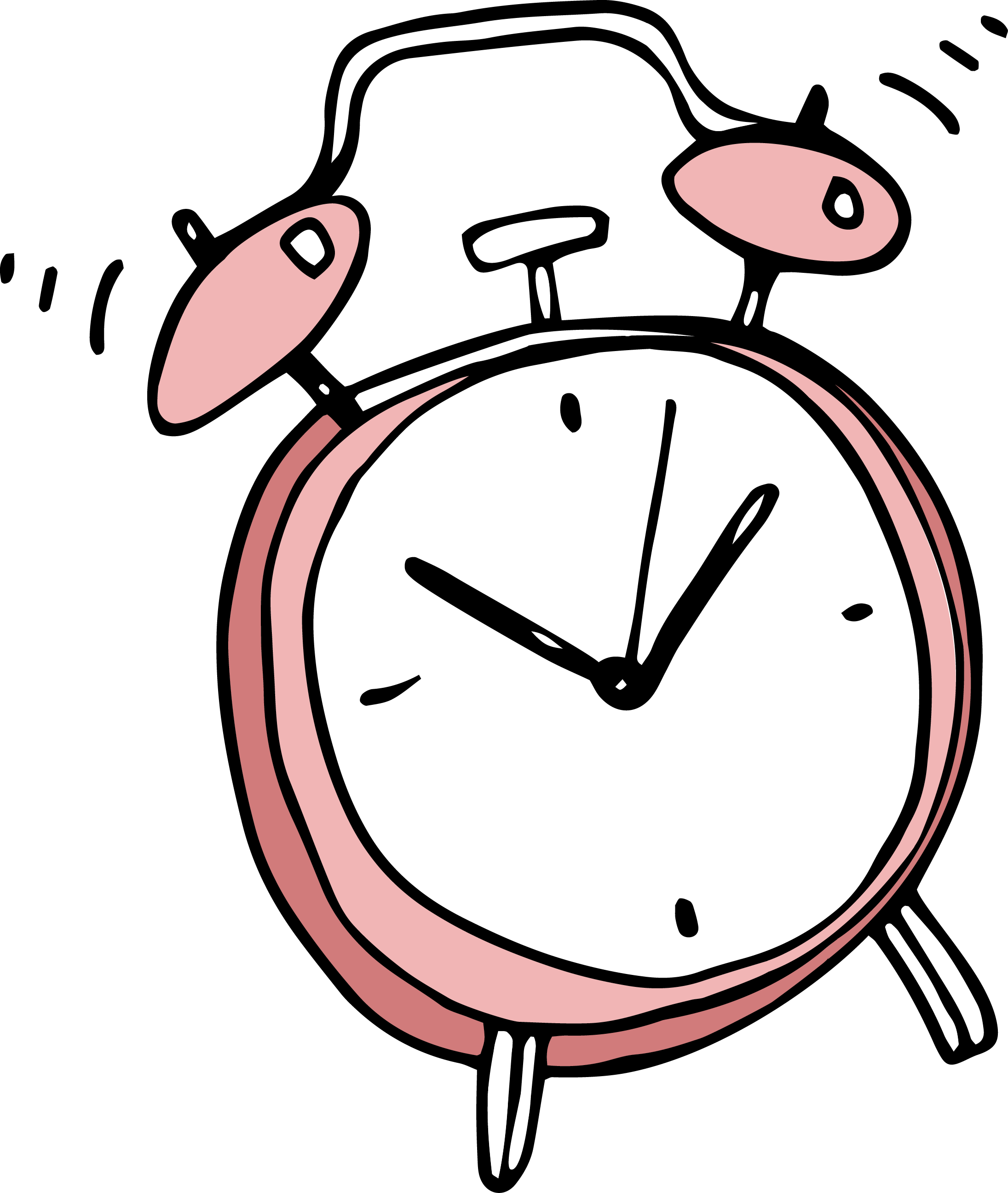 Alarm Clock Drawing | Free download on ClipArtMag