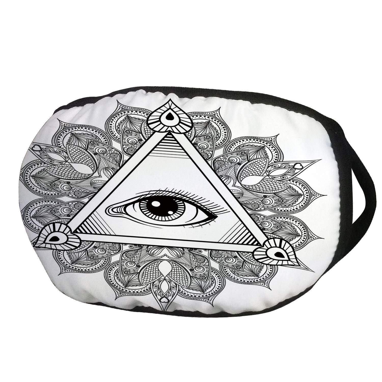 1500x1500 Fashion Cotton Antidust Face Mouth Mask, Eye, Vintage All Seeing