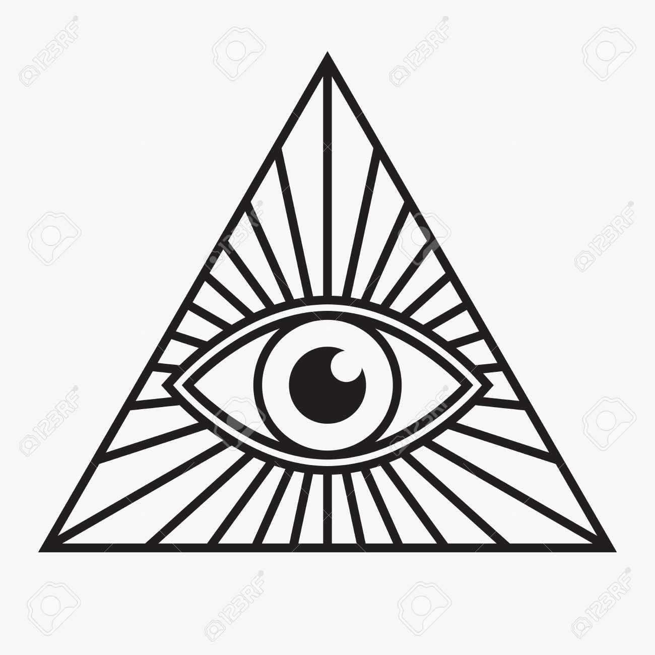 1300x1300 Stock Vector Patterns For Wcip Tattoos, Eye Symbol, All Seeing
