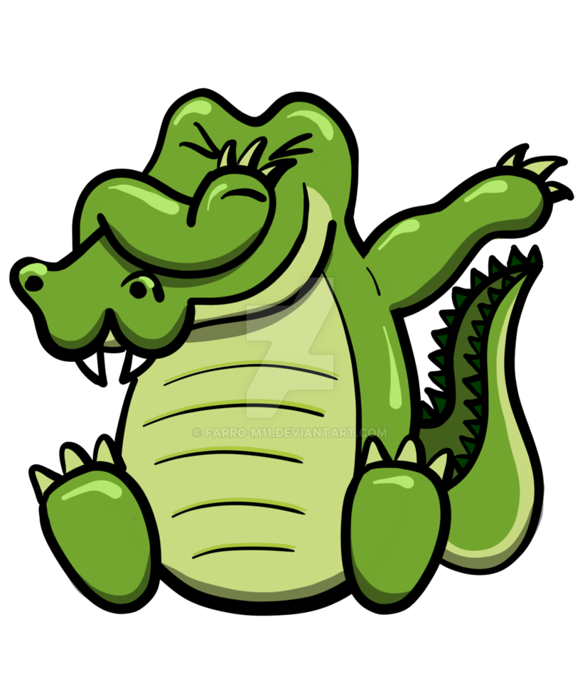 816x979 Dabbing Drawing Crocodile Huge Freebie! Download For Powerpoint