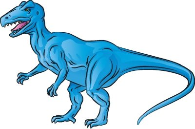 400x264 how to draw allosaurus in steps howstuffworks