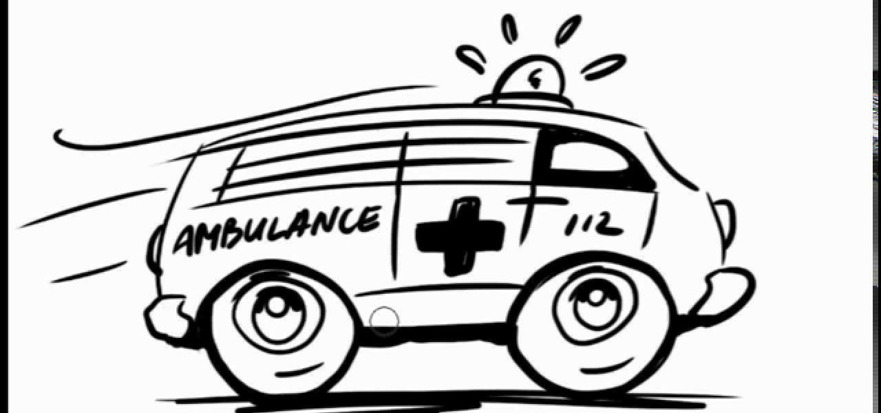 Ambulance Drawing | Free download on ClipArtMag