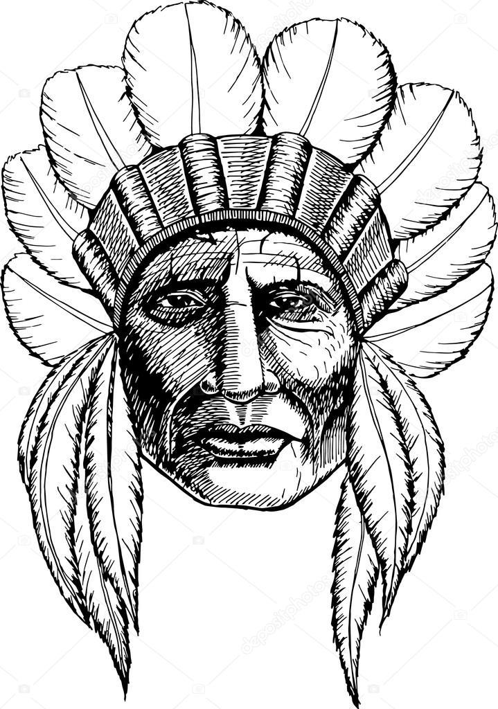 American Indian Drawings