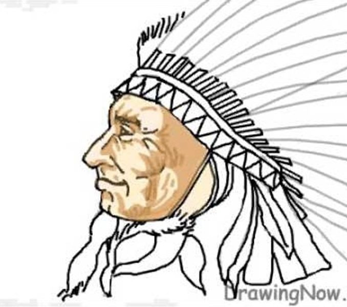 American Indian Drawings | Free download on ClipArtMag