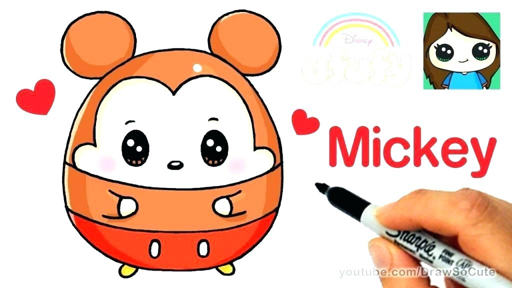 1024x576 Easy Drawing Of Mickey Mouse How To Draw Mickey Mouse Step