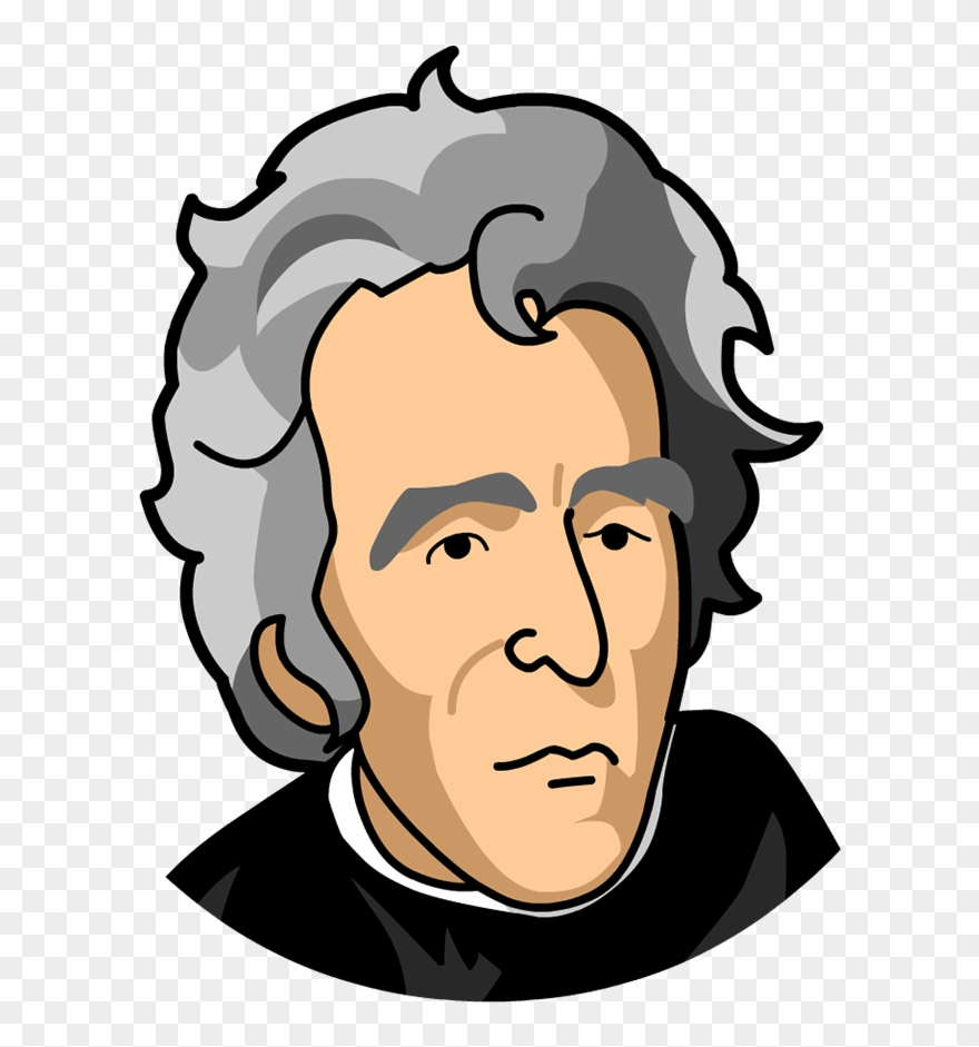 880x941 Cartoon Pictures Of Andrew Jackson Clipart