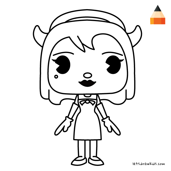 600x600 How To Draw Chibi Alice Angel