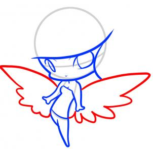 302x295 How To Draw How To Draw An Angel For Kids