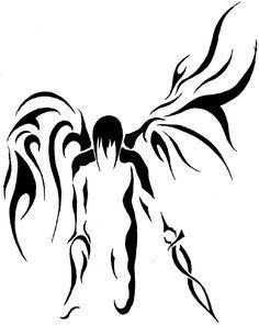 236x296 best angel tribal tattoos images tribal tattoos, tribal