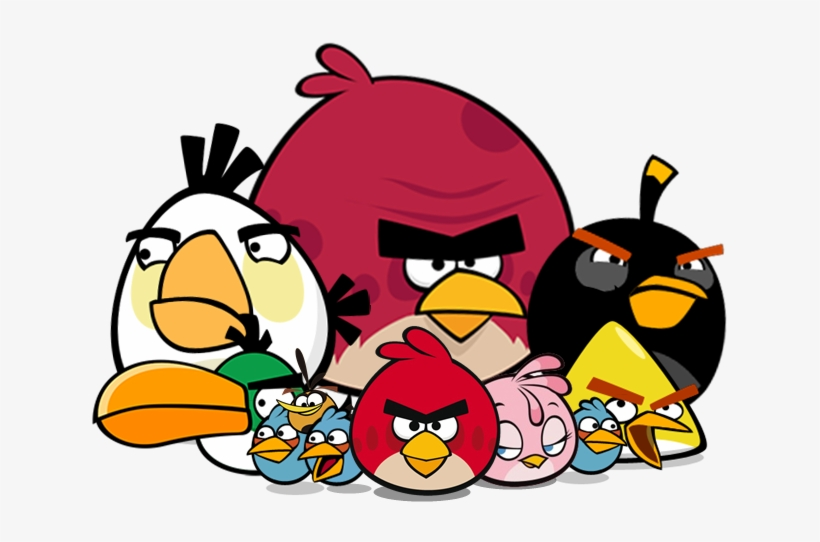 820x542 The Flock Angry Birds
