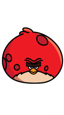 215x382 How To Draw Angry Birds, Terrence, Easy Step