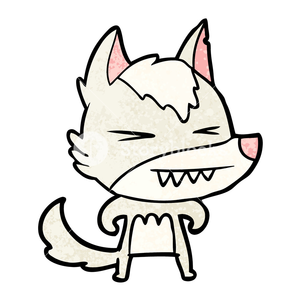 Angry Wolf Drawing | Free download on ClipArtMag