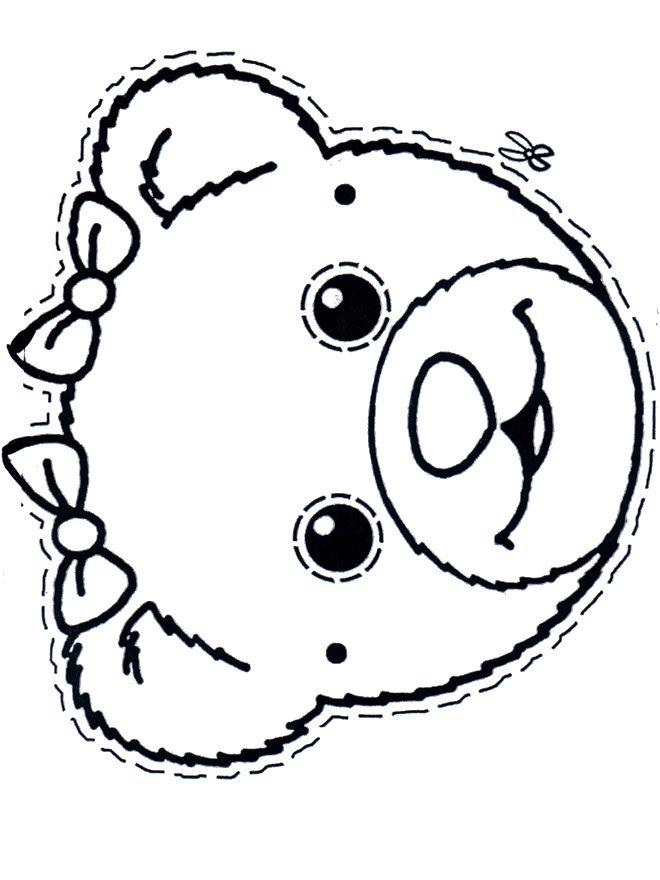 Animal Mask Drawing