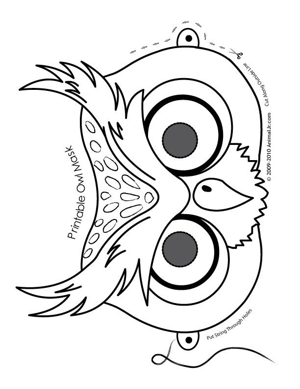 Animal Mask Drawing | Free download best Animal Mask Drawing ...
