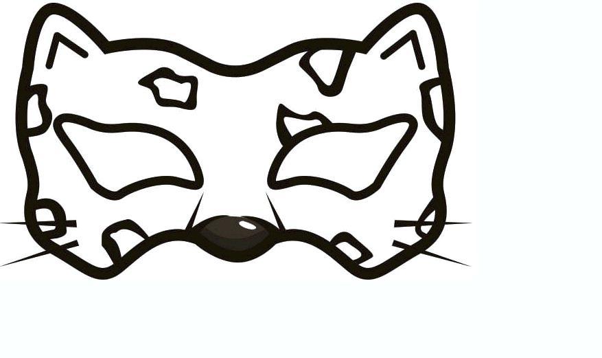 Animal Mask Drawing | Free download best Animal Mask Drawing