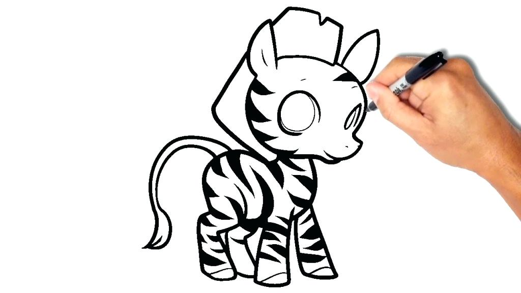 1024x576 sketch of zebra how to draw a zebra zebra print sketchbook