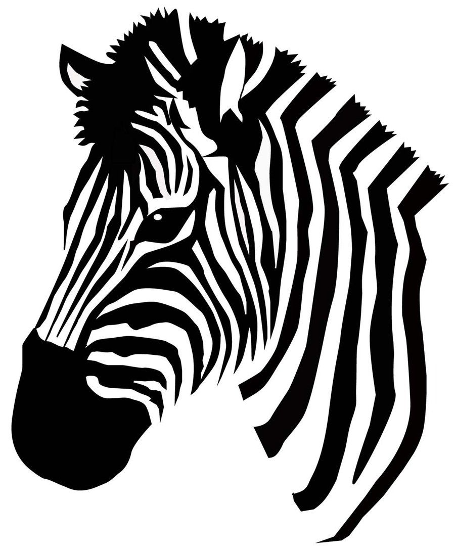 900x1088 zebra vector craft projects zebra painting, zebra face, zebra