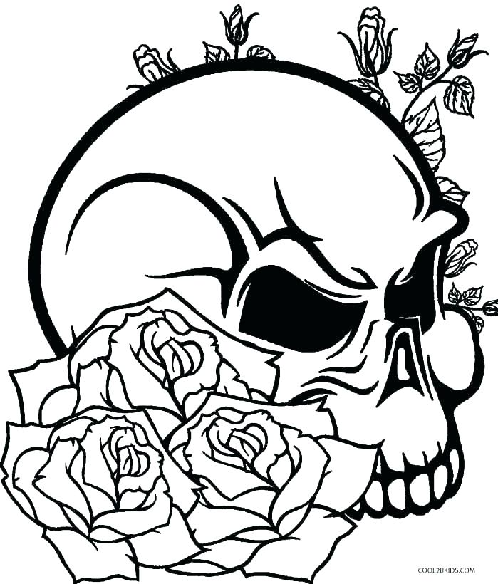699x820 Animal Skeleton Coloring Pages Skull Coloring Pages To Print Skull