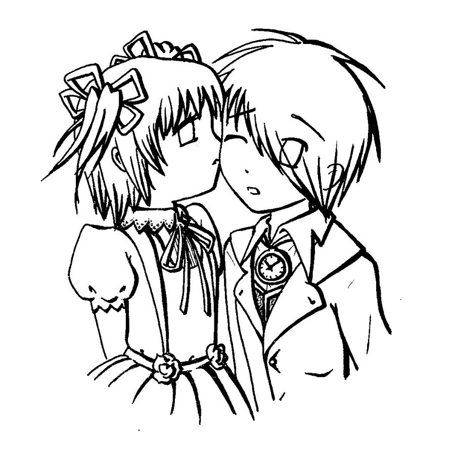 900x890 cute anime couples coloring pages how to draw anime couples