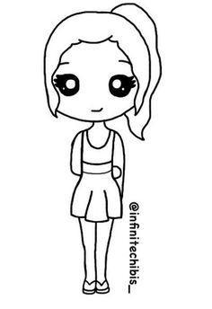 236x344 Easy Chibi Girl Drawings Sketches Inspirational Anime Girl Chibi