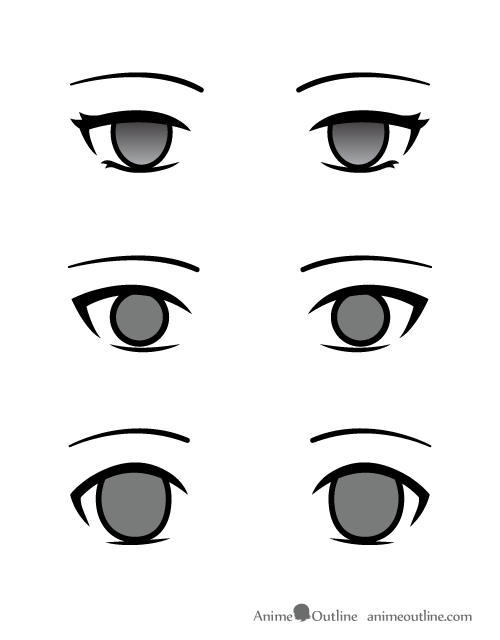500x640 Eye Drawing Anime For Free Download