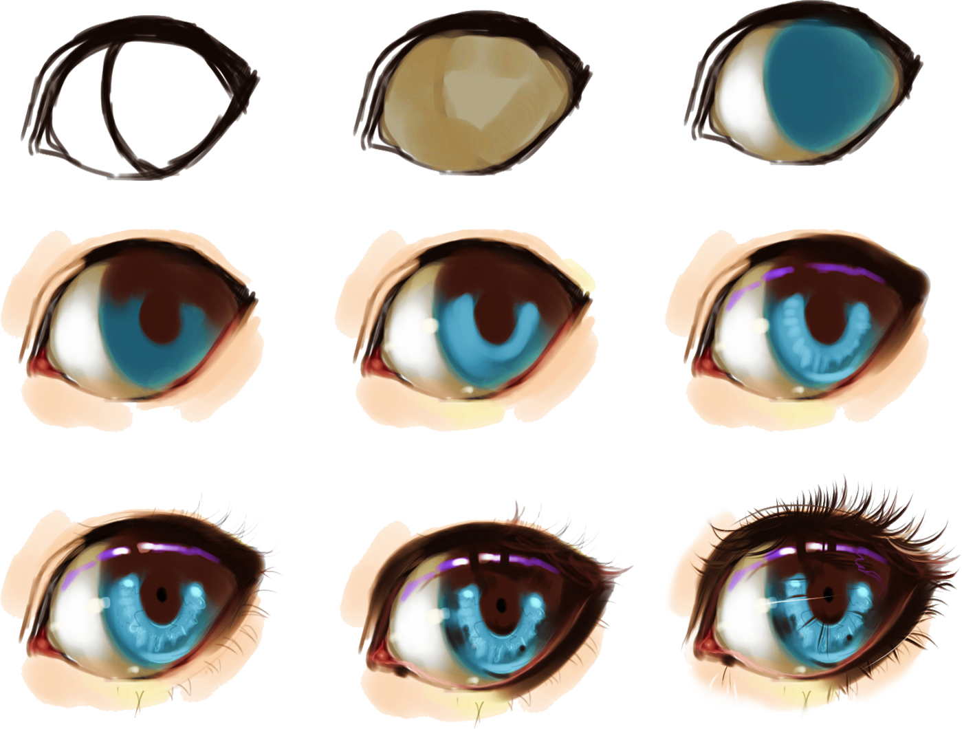 1399x1060 How To Draw Anime Eyes Female Pictures And Cliparts, Download Free